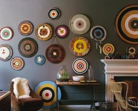 Vintage Dart Boards on the Remodelista