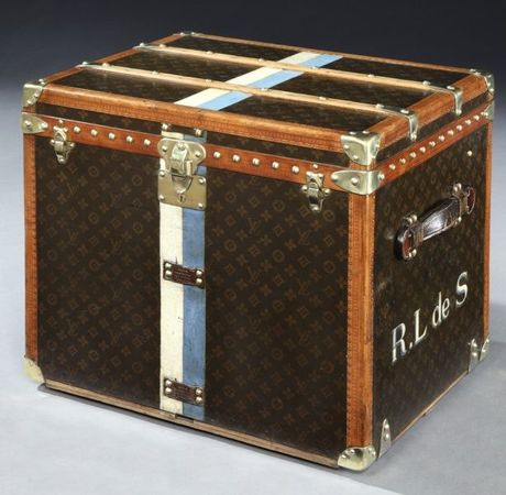 Vintage Louis Vuitton Cube Trunk