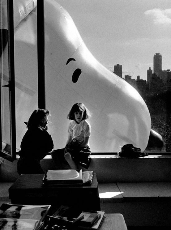 Snoopy through the Window