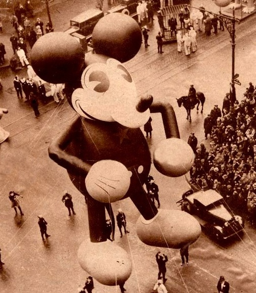 1930's Mickey Balloon