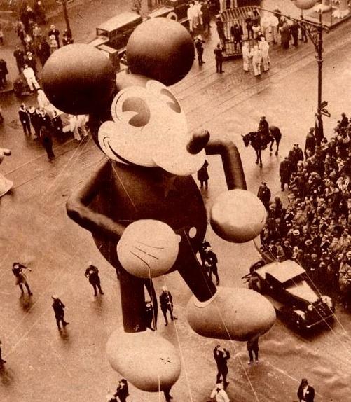 1930's Mickey Balloon