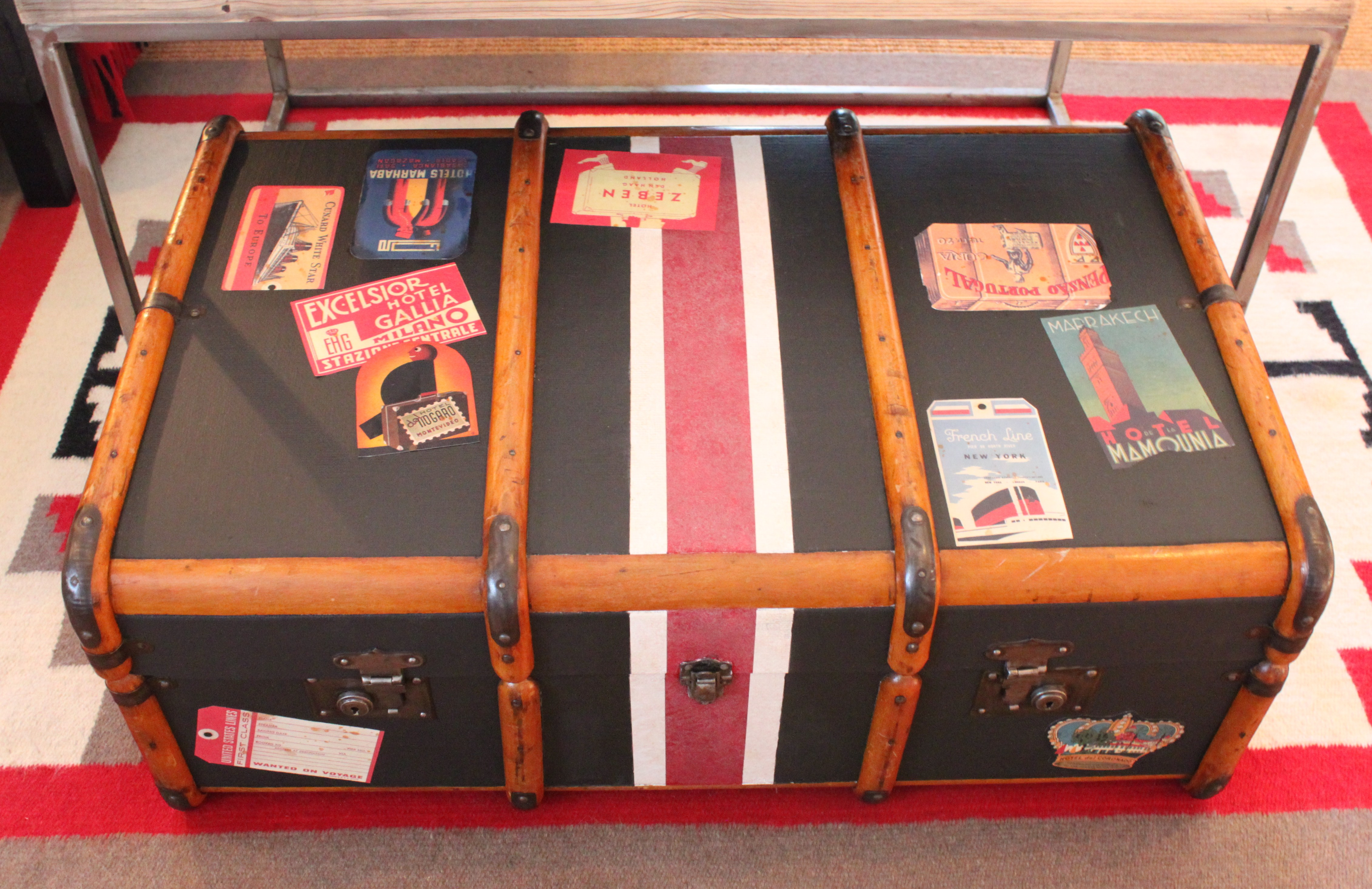 Indiana Travel Trunks Images New Old Steamer Trunk The Cavender Diary Jpg