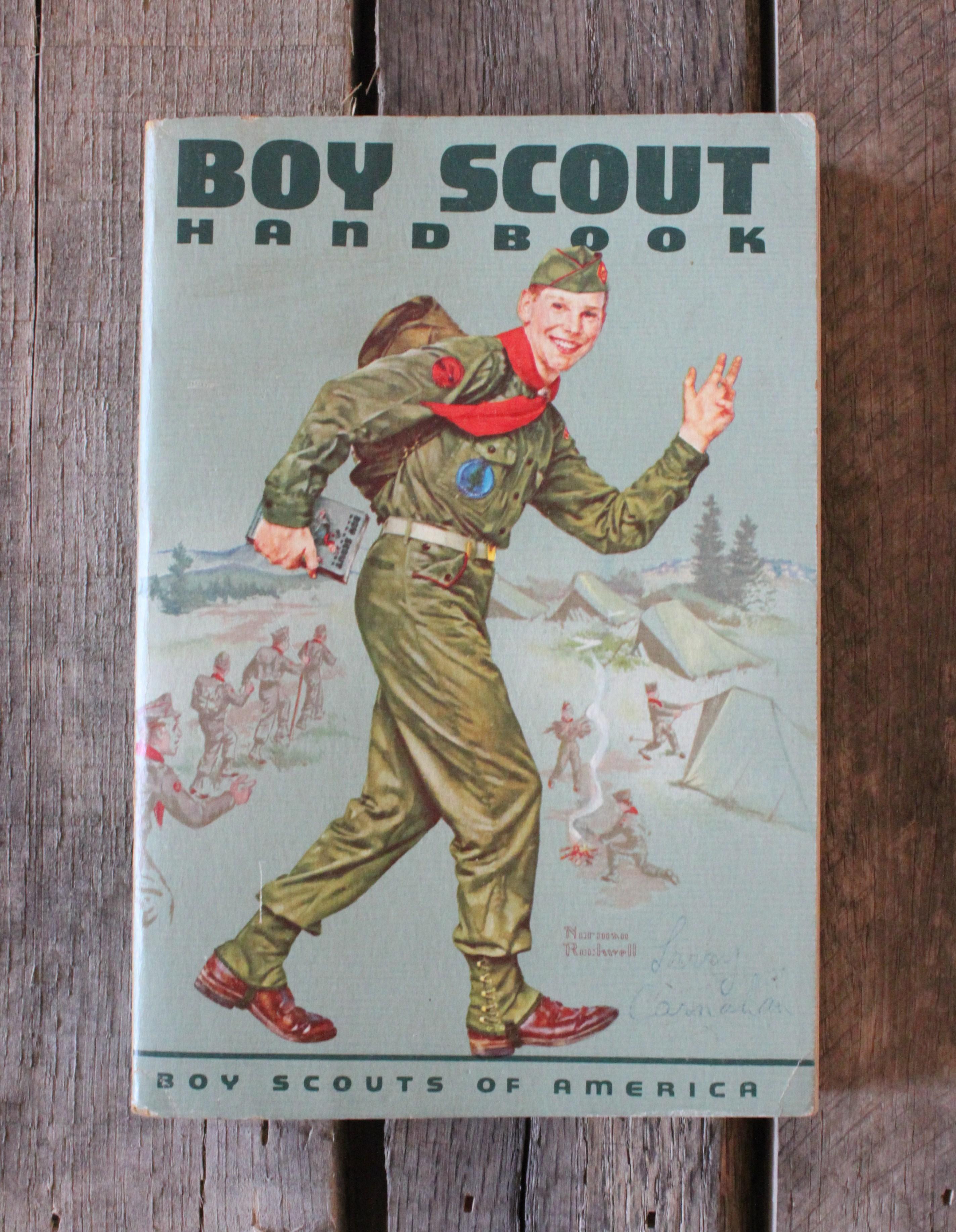 Boy scout of america handbook