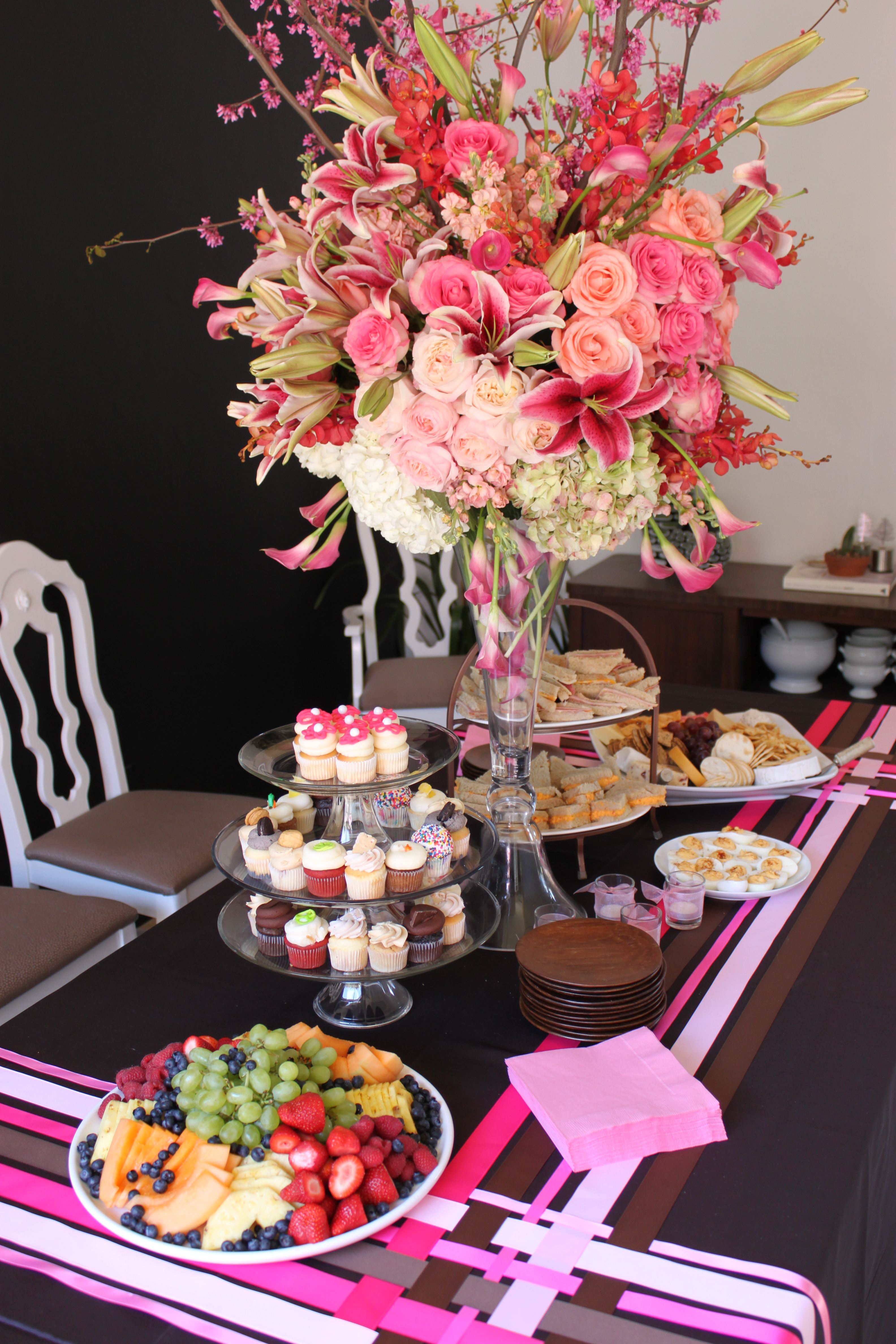 Baby Shower Buffet Table Decorating Ideas Choice Image