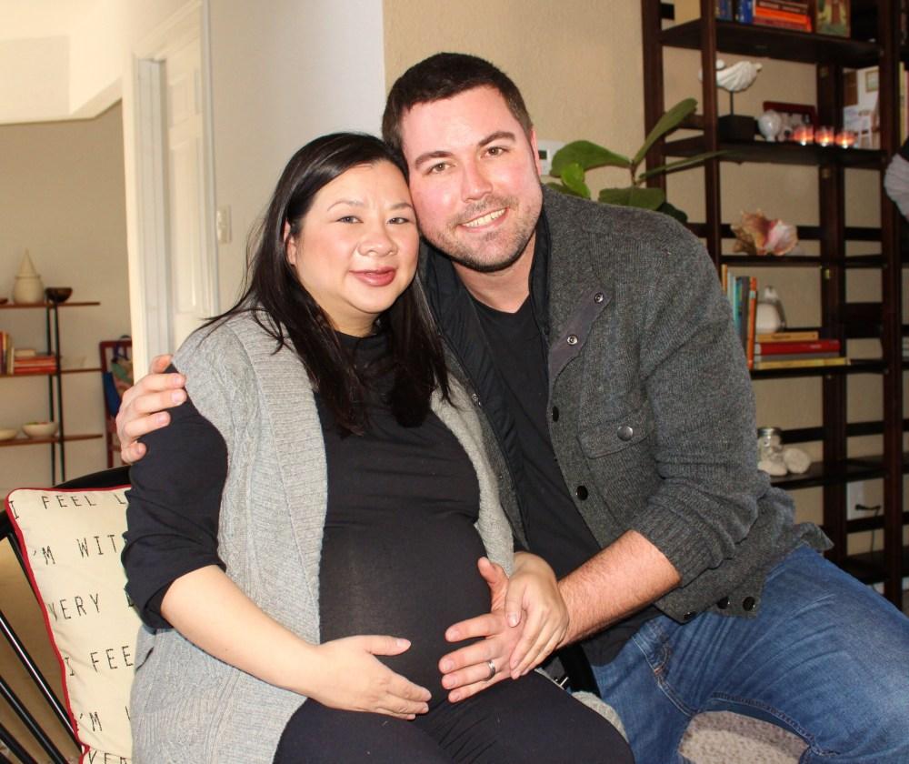 Kylie & Gert & baby Maddie Still Inside