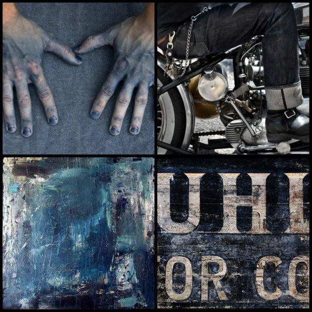 Indigo Collage 3