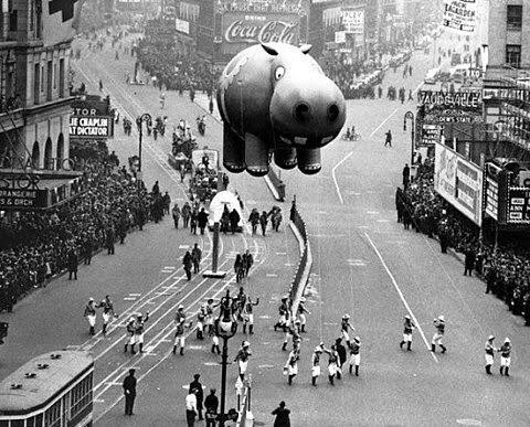 Macy's Day Parade Hippo