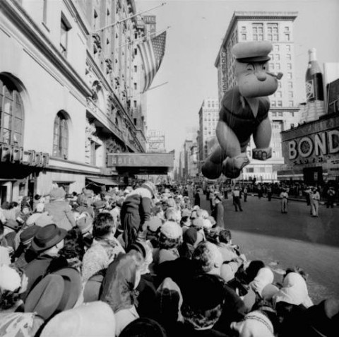 Popeye in the Macy's Day Parade
