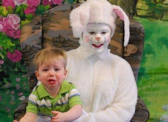 Sad Sad Easter Bunny