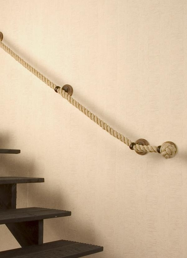 Straight Tight Rope Handrail