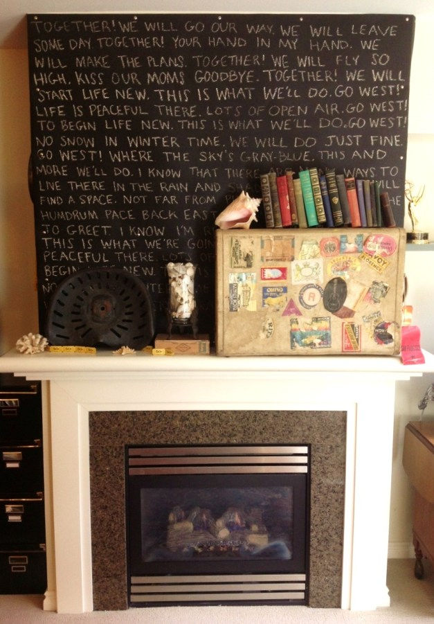 Fireplace Art Work