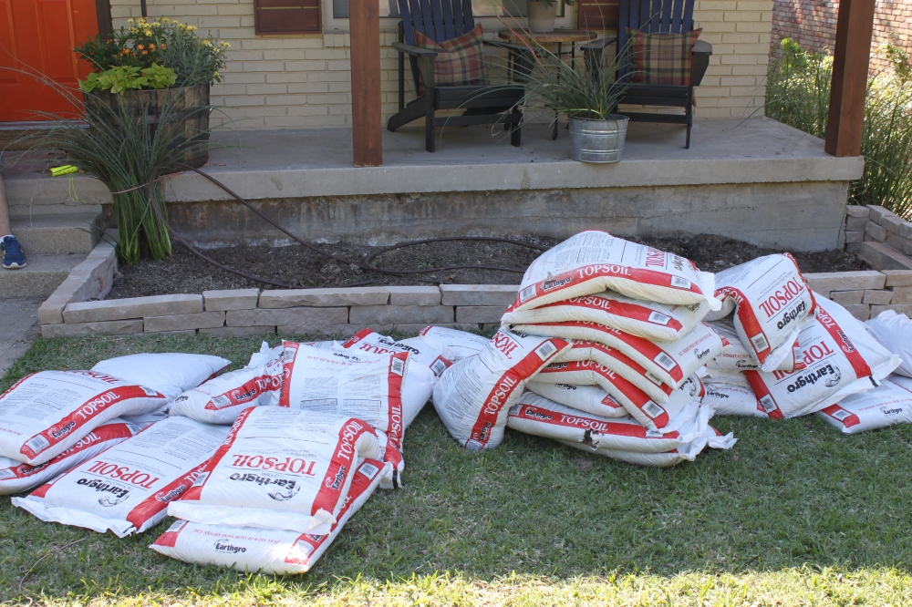 35 Bags of Topsoil