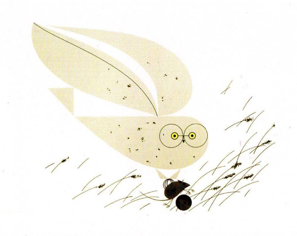 Charley Harper Barn Owl