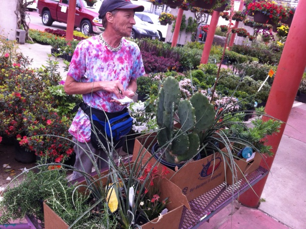 Hippie at the Farmers Market