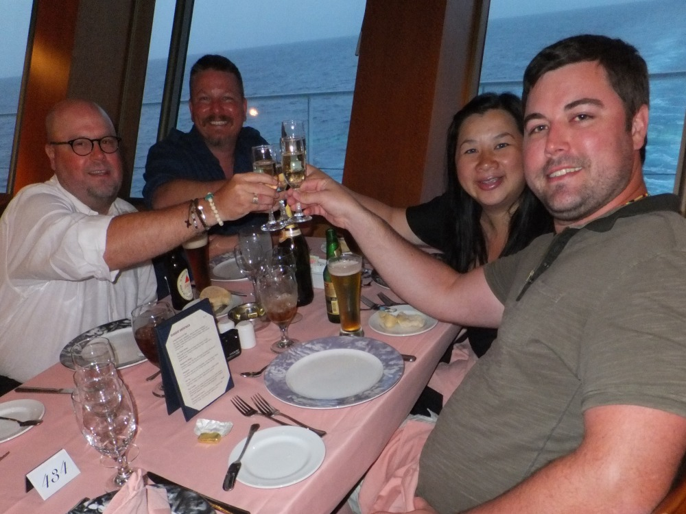 Last Dinner on the Cruise