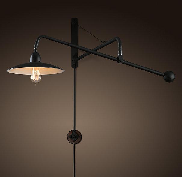 restoration hardware swing arm lamp - Swing Arm Lamp