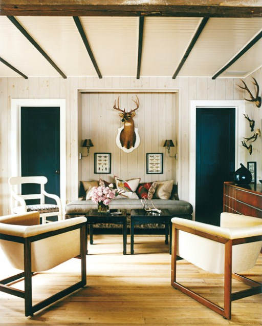 Thom Filicia Lake House Den