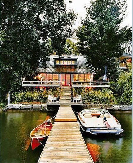 Thom Filicia lake house domino