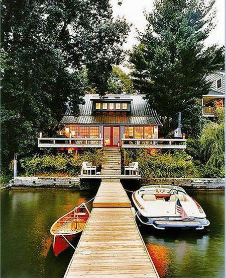 Thom Filicia lake house domino