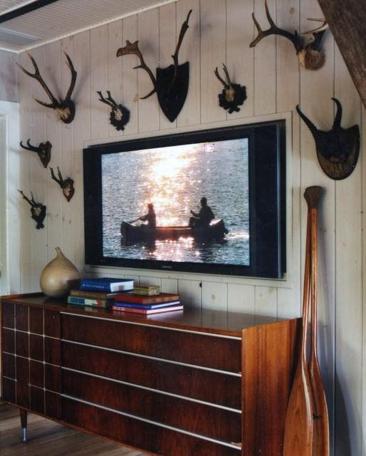 Thom Filicia Lake House Family Room