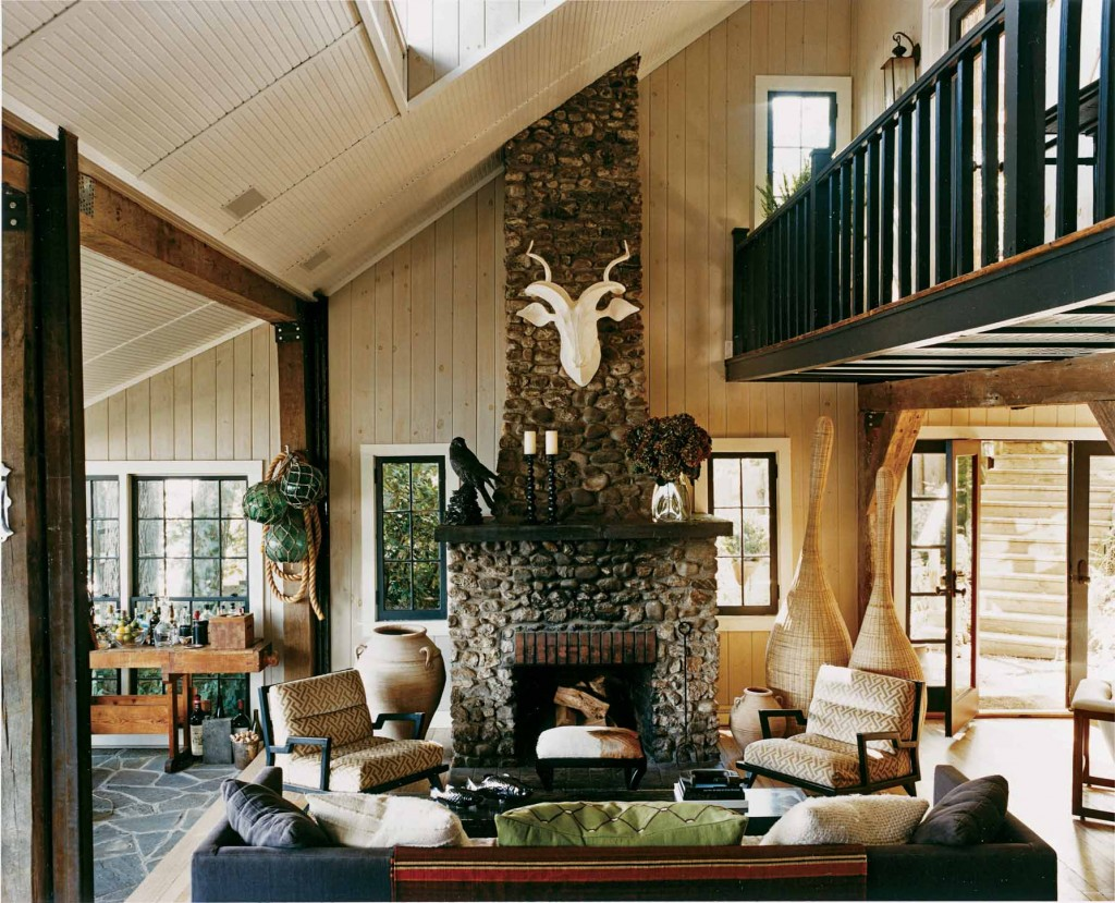 Amazing Thom Filicia Lake House Living Room