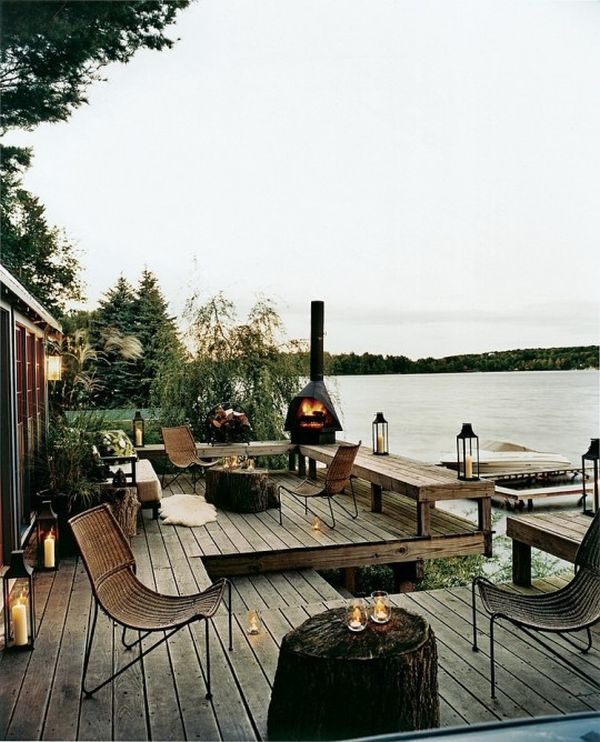 Thom Filicia Lake House Porch