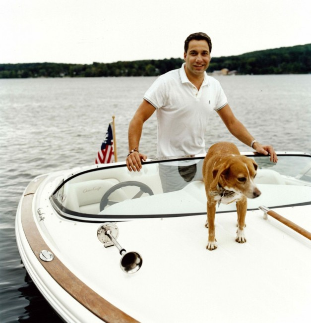 Thom Filicia on his Boat