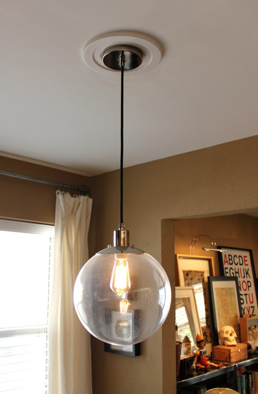 West Elm Ball Pendant