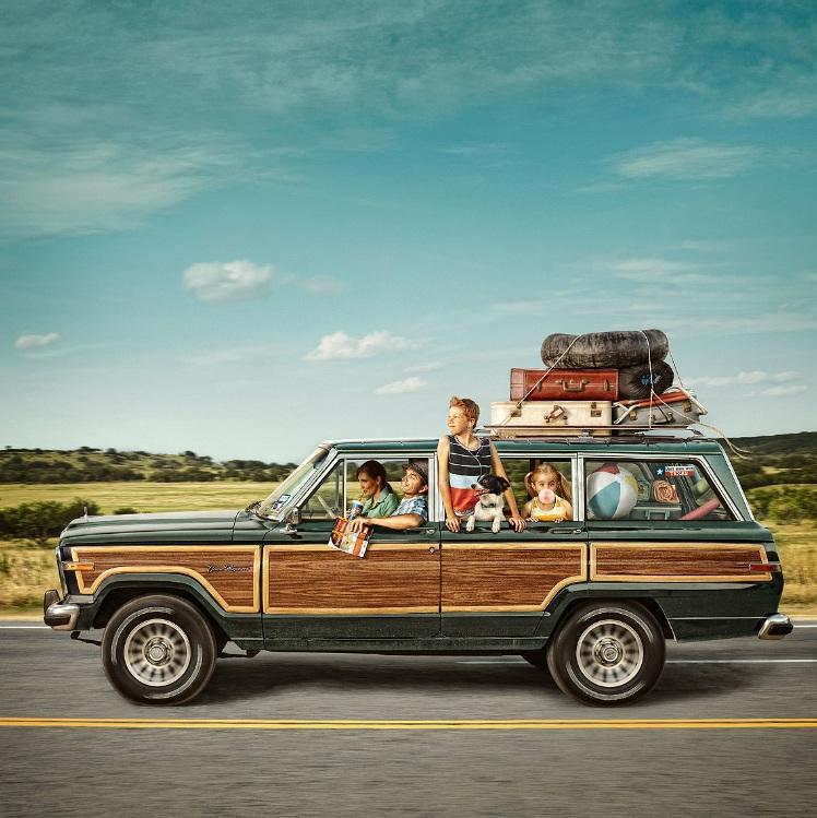 American Rockwell-esq Roadtrip