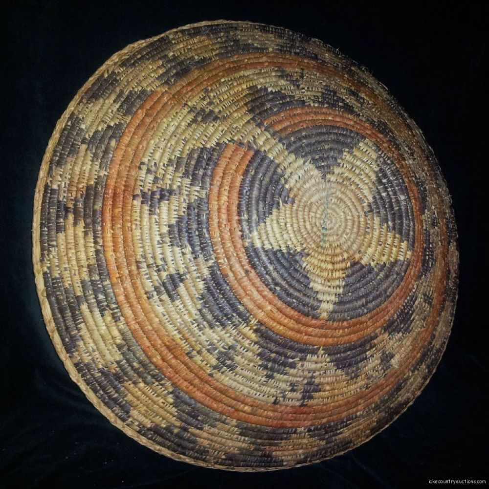 Vintage Navajo Wedding Basket