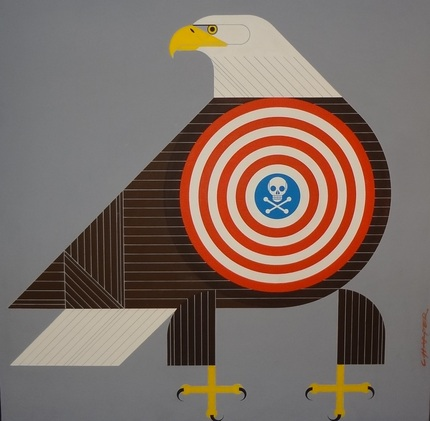 Charley Harper Editorial Eagle