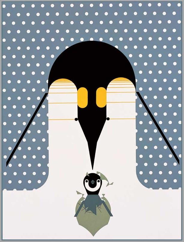 Charley Harper Penguins