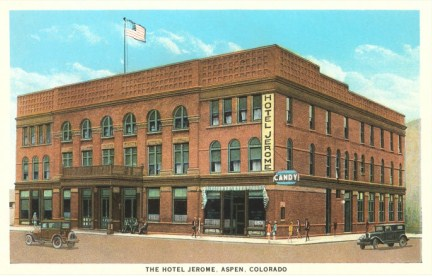 Hotel Jerome Aspen Colorado Postcard