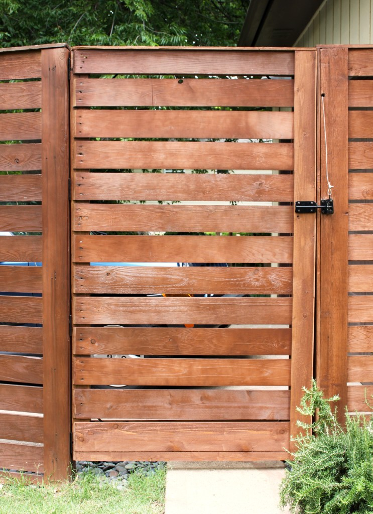 Gate After, Taller and the Slats Align Perfectly