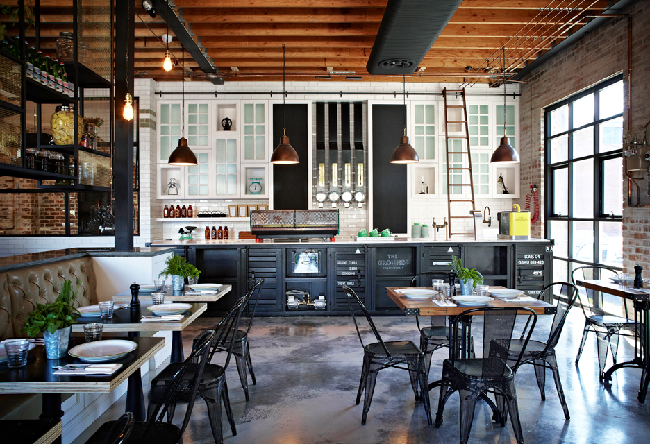 Industrial Pendants Restaurant Lighting