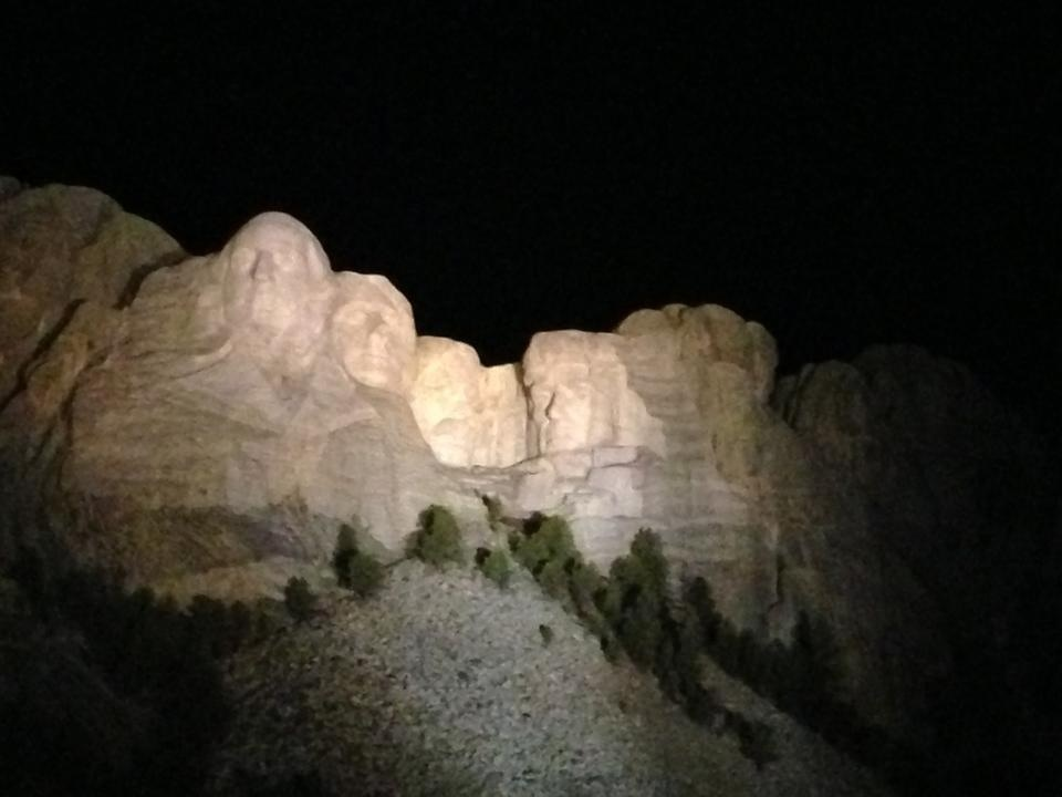 Mt. Rushmore from Jamie's Phone
