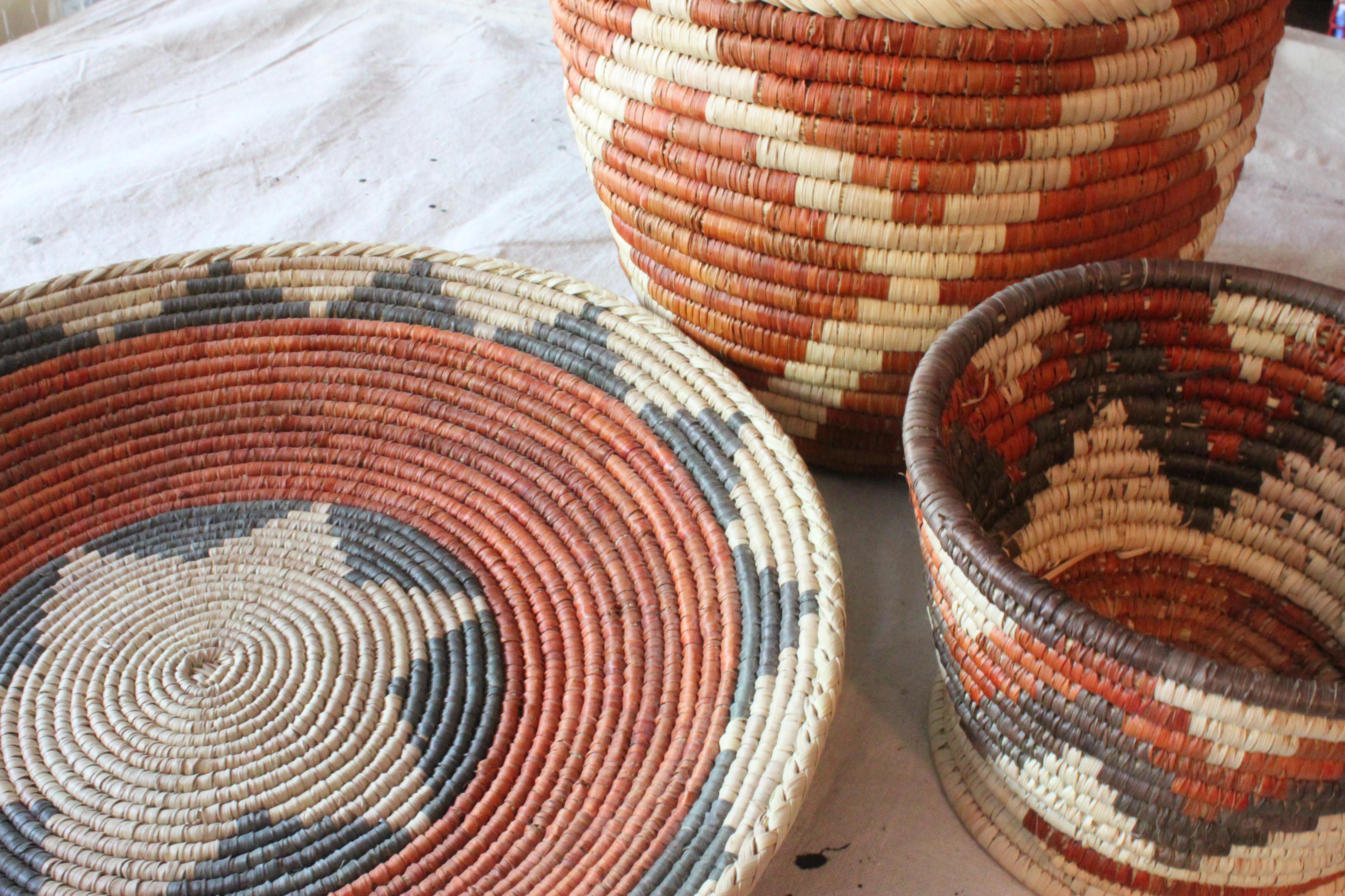 Vintage Indian Baskets