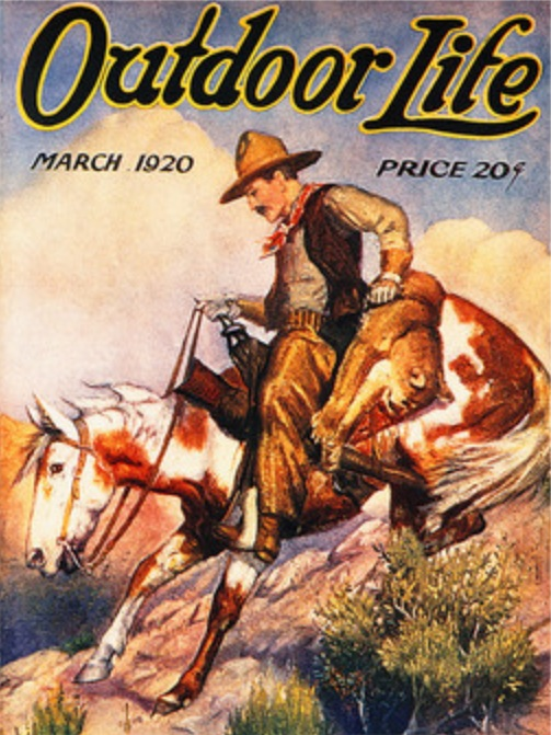 Vintage Magazine Covers   THE CAVENDER DIARY on Life Outdoor id=90586