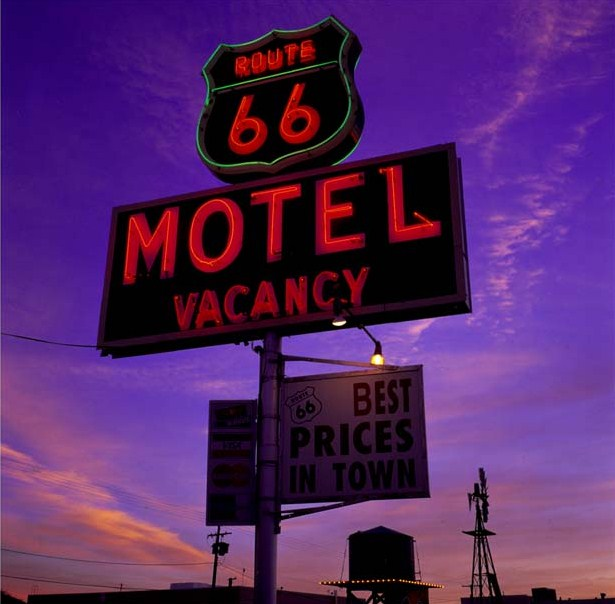 Route 66 Motel Vacancy