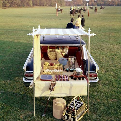 Vintage Polo Match Tailgate Party