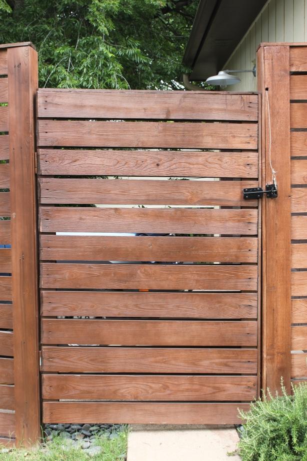 cedar fence gate plans