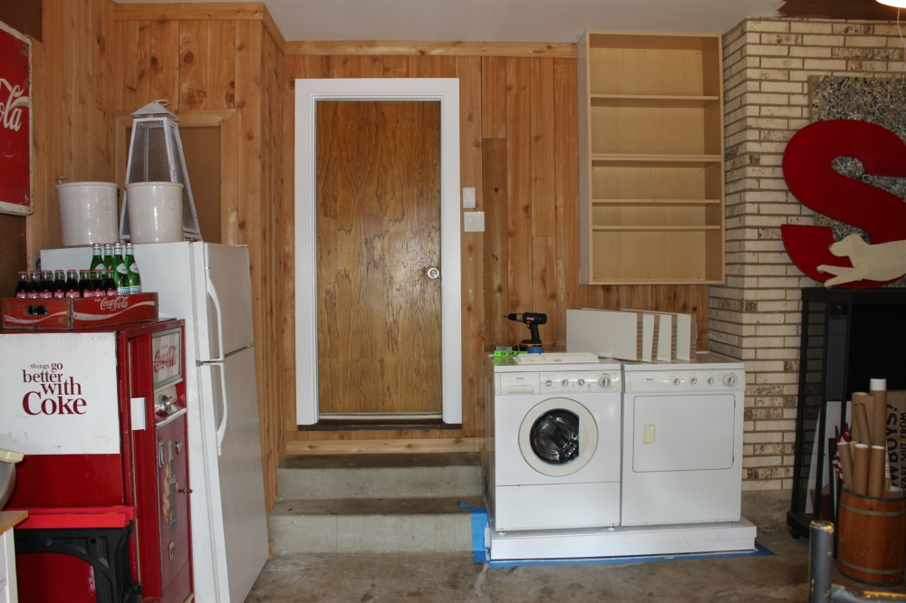 Washer and Dryer on New Platform