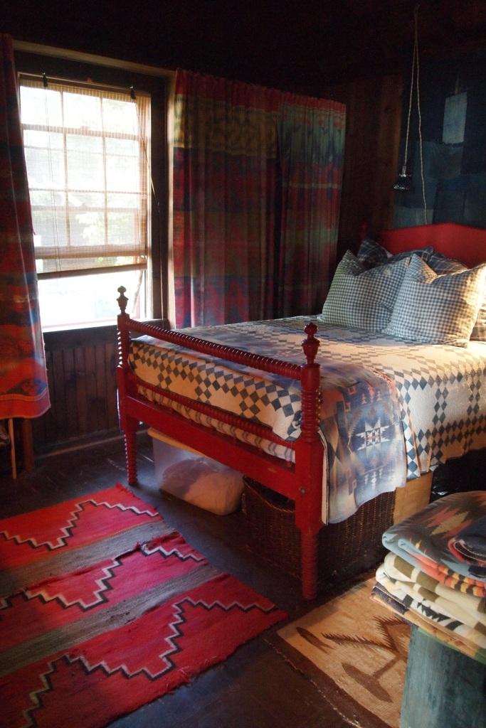 Bedroom at Seaweed's Beach House