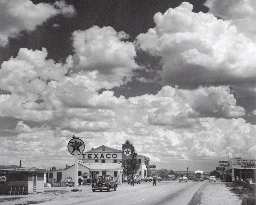 Black and White Route 66
