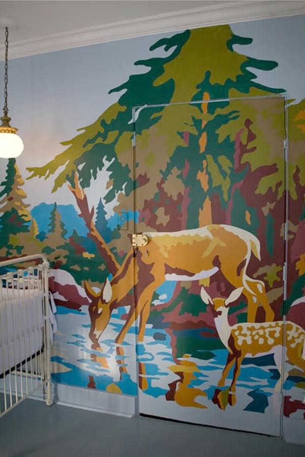 Camp WandaWega Nursery Wall Mural