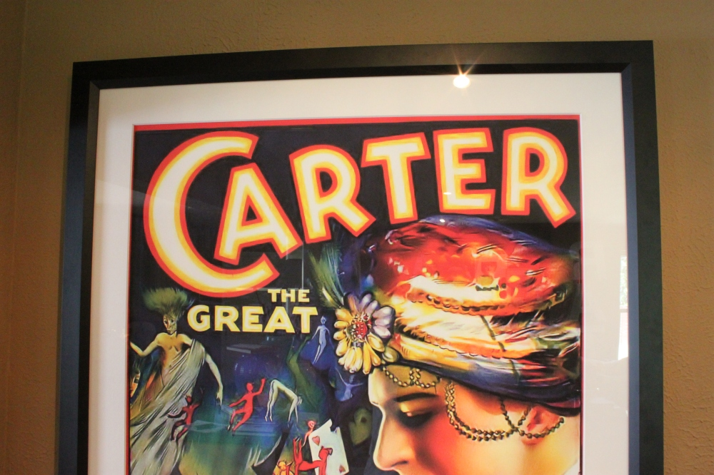 Carter the Great in a Frame