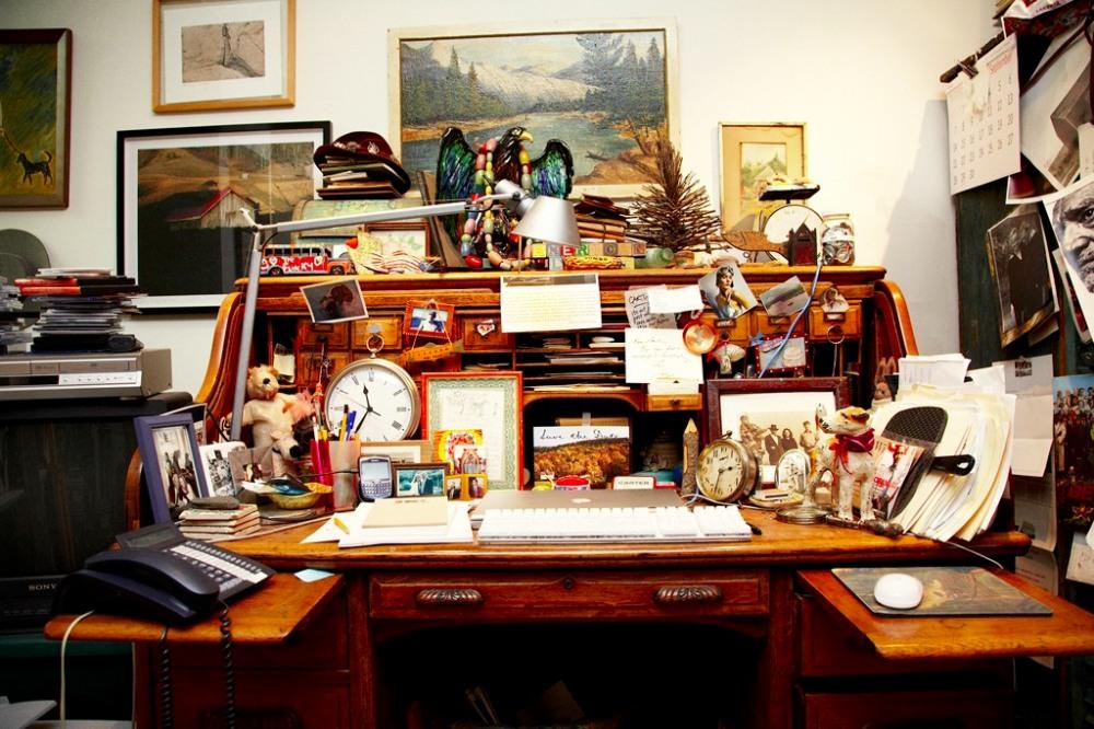 Carter's Desk