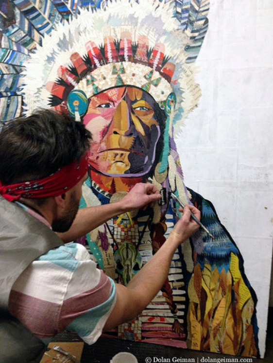 Dolan Geiman Creating the Amerian Heritage Chief