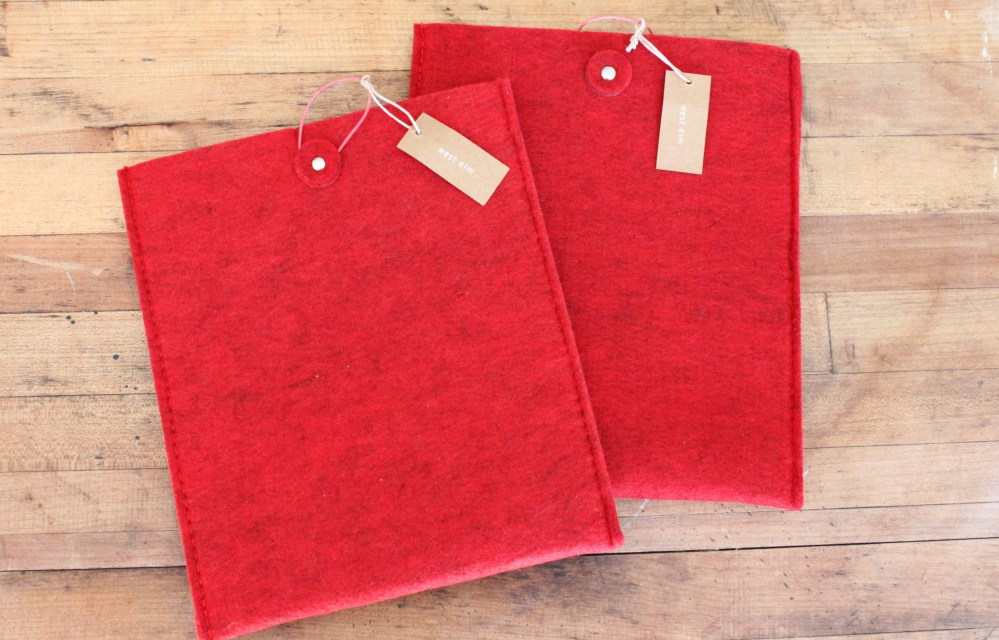 Felt iPad Covers from West Elm