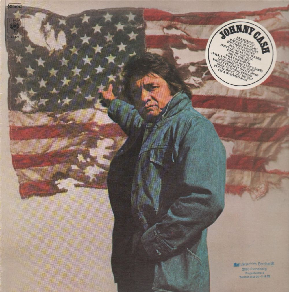 Johhny Cash Ragged Old Flag